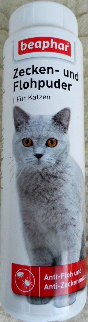 flohpuder für katzen