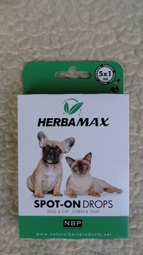 Ungeziefer Spot On Herba Max Drops